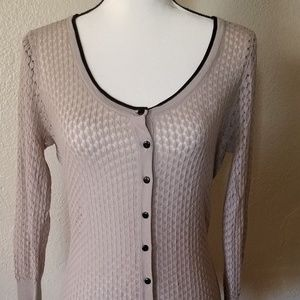 Gray H&M Light Cardigan